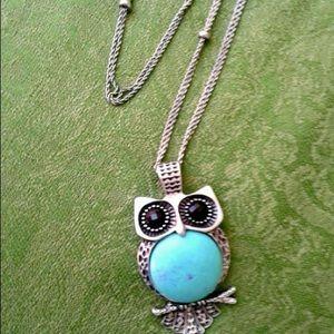 Loft Owl necklace